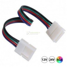 RGB LED strip Click connector, 4-aderig